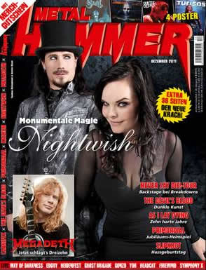 HellXHere in Metal Hammer 2011-12